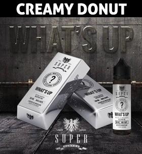 What's up creamy donut e-liquid