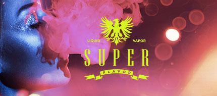 Superflavor e-liquids