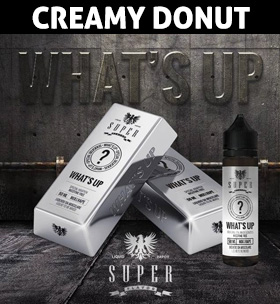 What's up creamy donut e-liquid